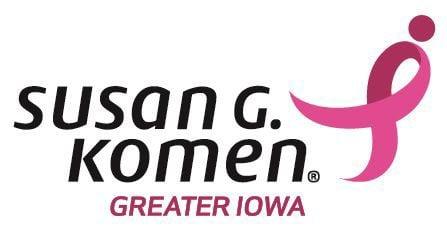 Komen Greater Iowa logo