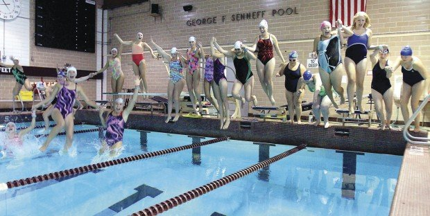 Moline Glad To Be Back In Own Pool High School Swimming