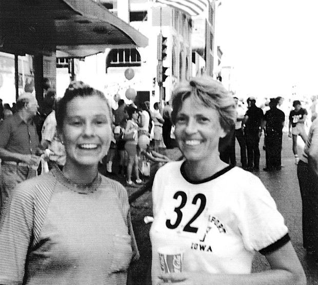 Eloise Caldwell and Connie Rhodes