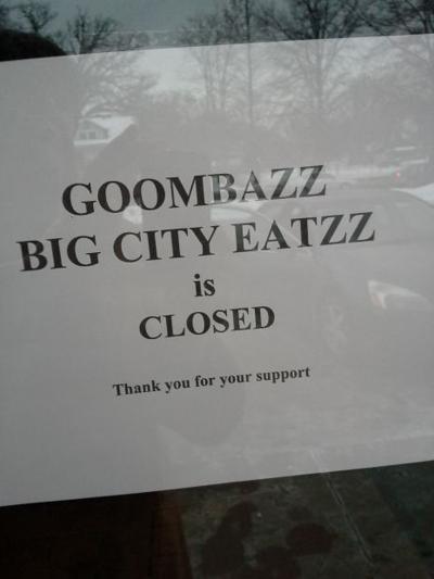 Goombazz sign
