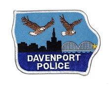 Davenport Police patch