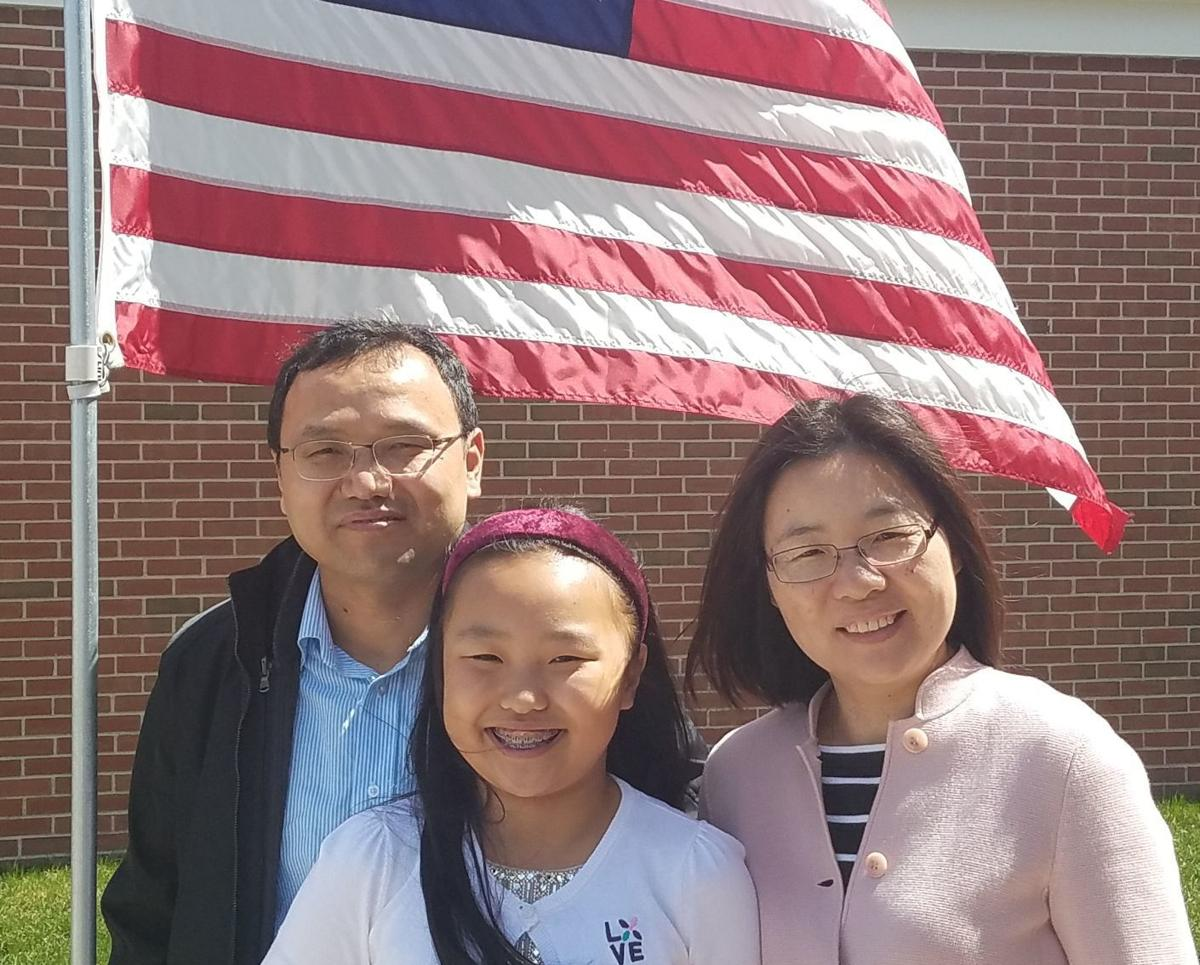 Sherry Tang and her family