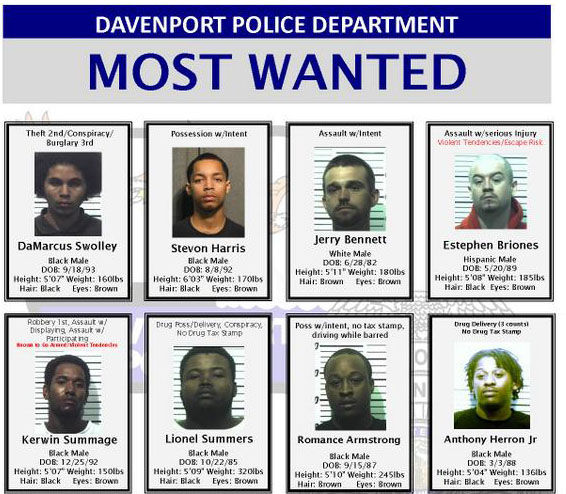 Most Wanted 8/11