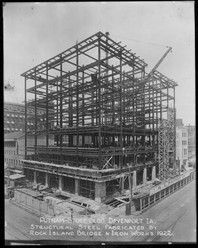 Parker Building construction