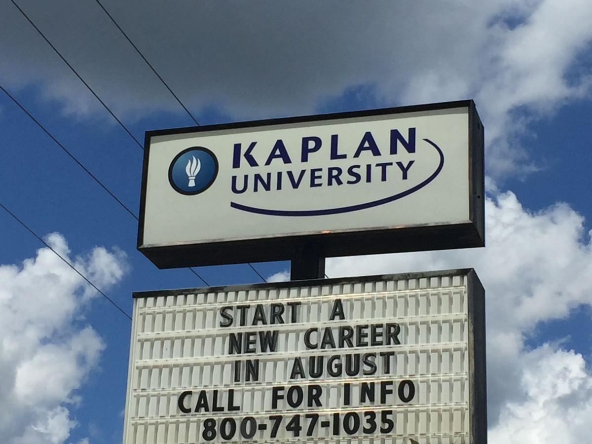 Kaplan University sign
