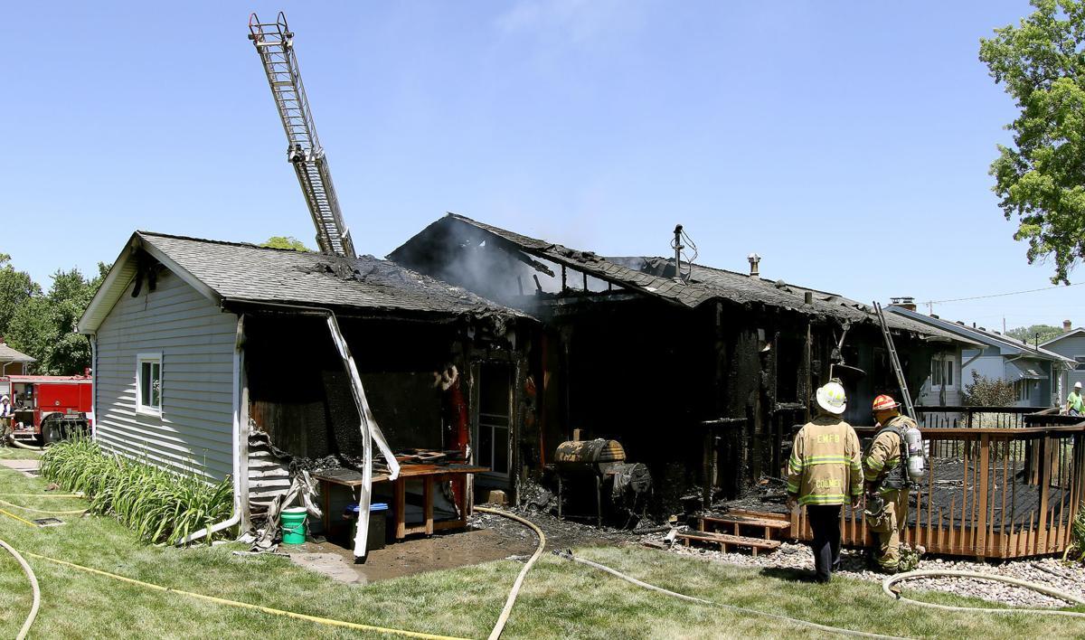 Moline house fire