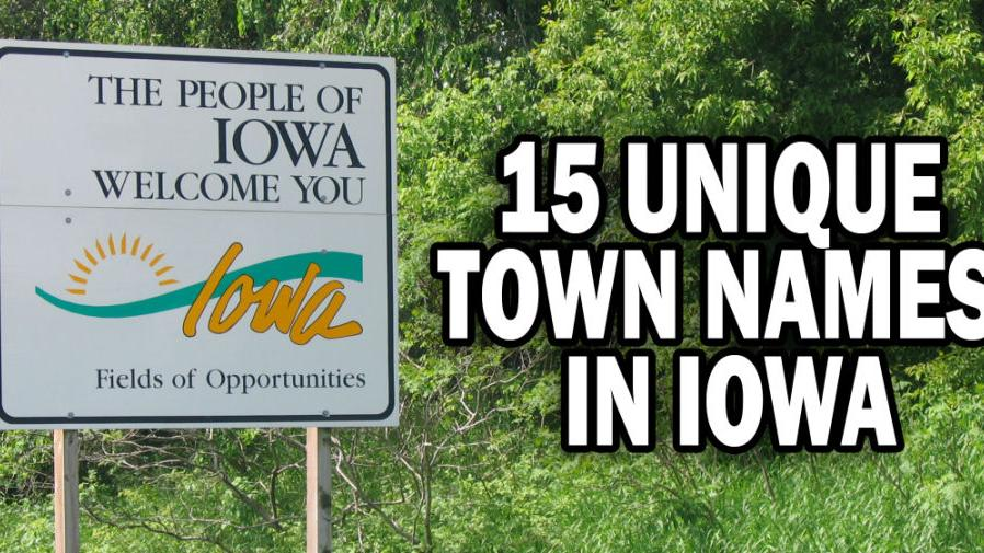 15 unique town names in Iowa | Iowa News | qctimes com
