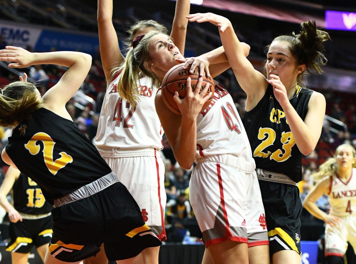 North Scott vs Center Point-Urbana state basketball