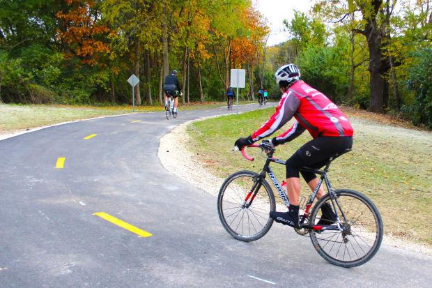 Crow Creek bike trail
