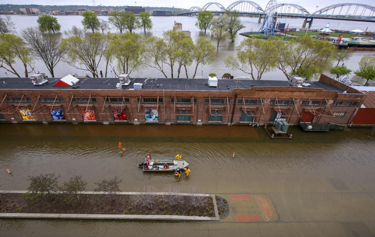 FLOOD UPDATES: Catastrophe strikes Davenport | River