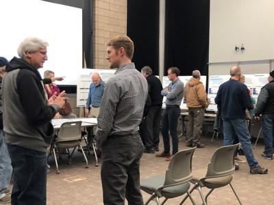 Participants at the Illinois 92 Corridor meeting