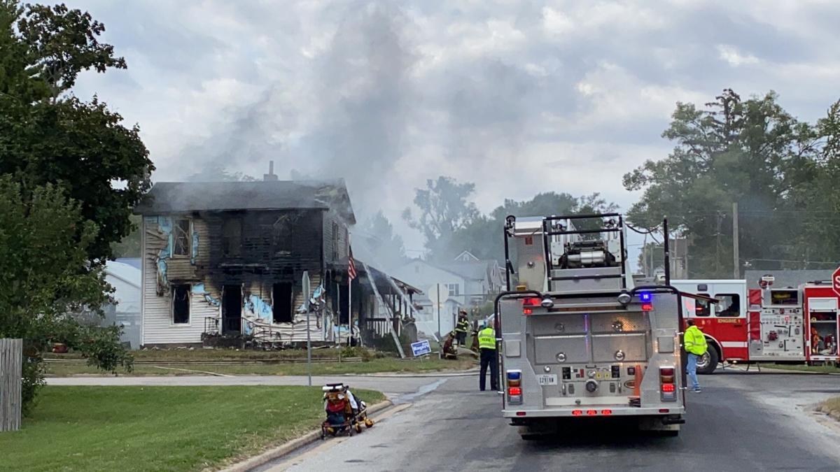 House fire in Buffalo