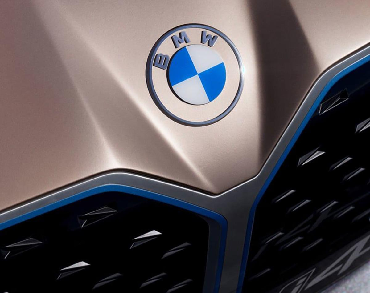 BMW's new logo