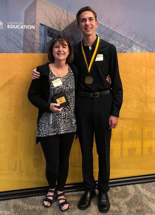 Local student honored at University of Iowa Belin-Blank Center's Recognition Ceremon