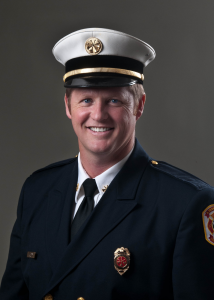 Clinton Battalion Chief Jeff Chapman