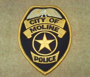 Moline police patch