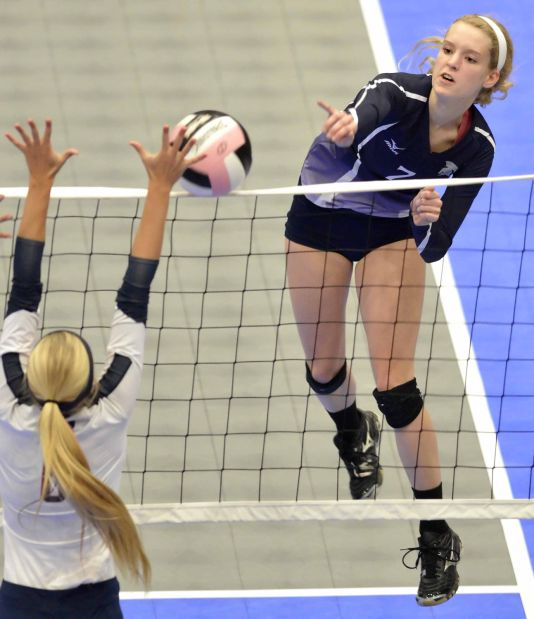 Pleasant Valley vs Urbandale state volleyball