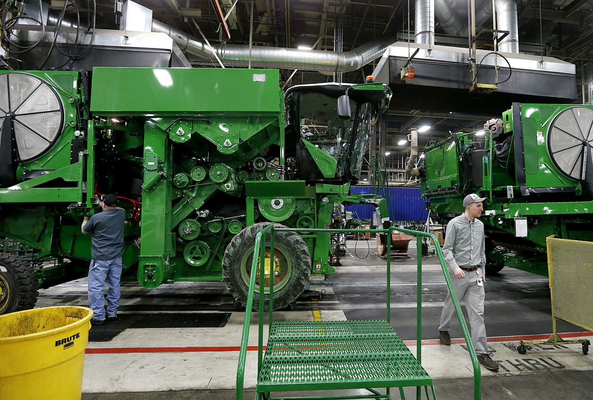 John Deere Assembly Line : Deere ranked among world s most ethical companies