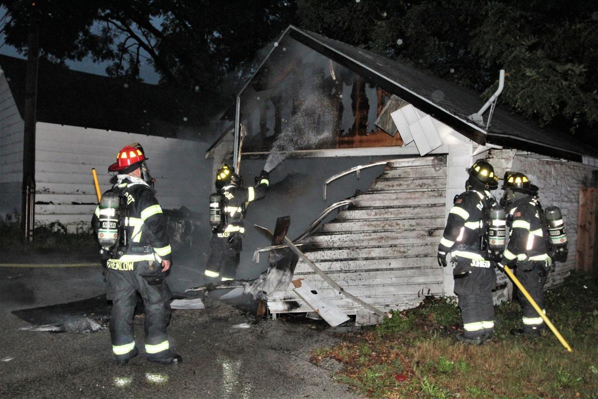 Garage fire 2