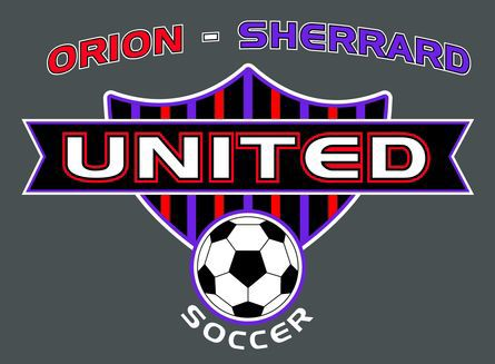 Orion-Sherrard United soccer logo