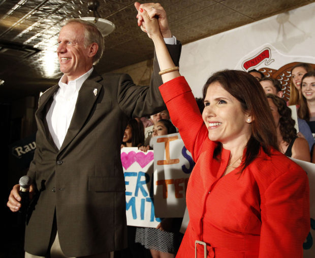 Bruce Rauner-Evelyn Sanguinetti