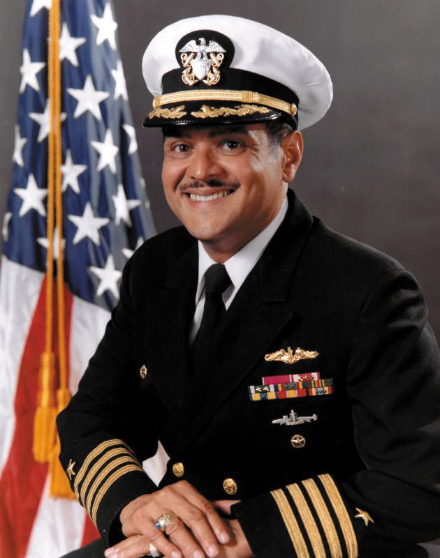 "Captain C.A. ""Pete"" Tzomes, U.S. Navy (Retired)"