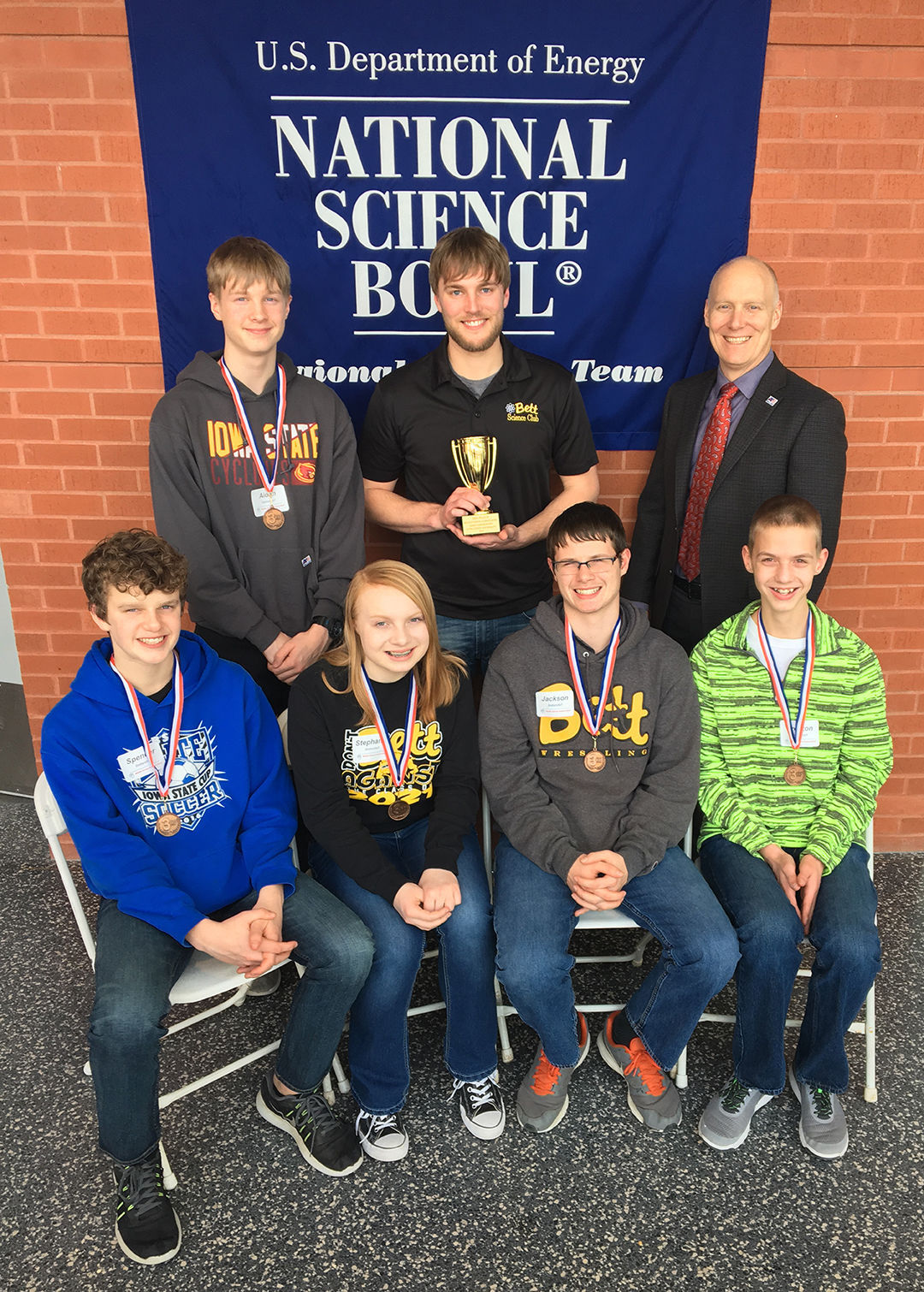 BMS Students place third in Science Bowl