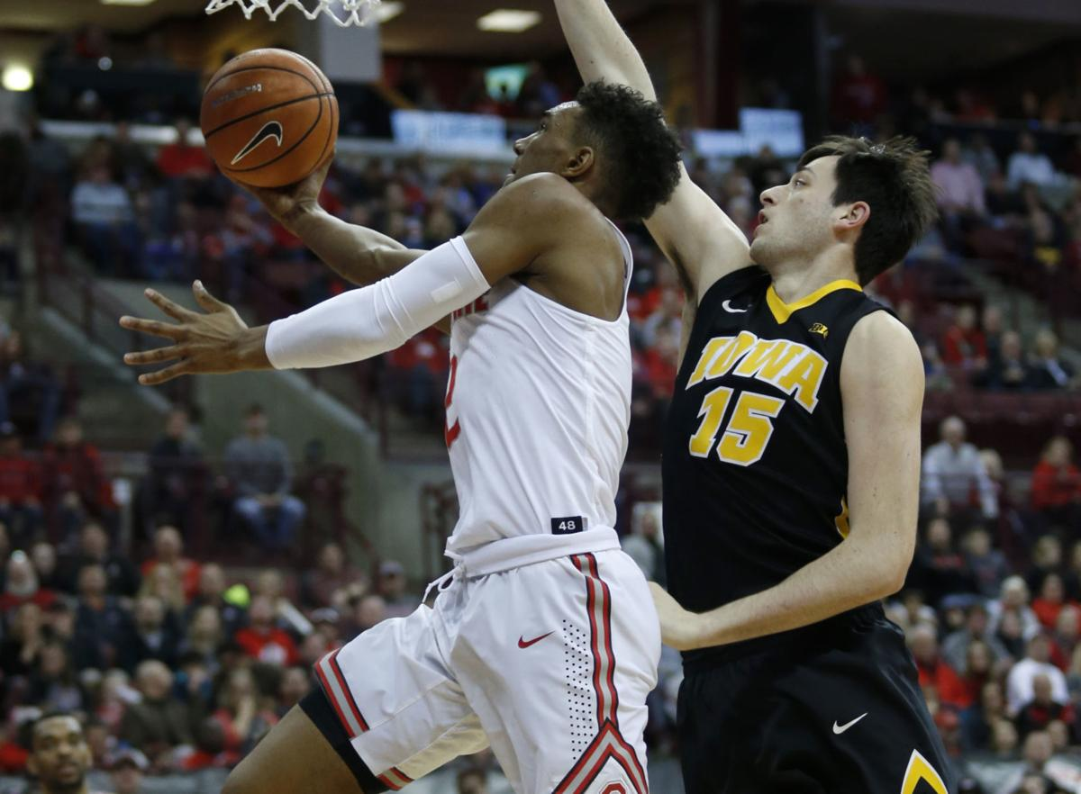 Iowa Ohio St Basketball