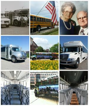 Johannes Bus Service Inc. Collage