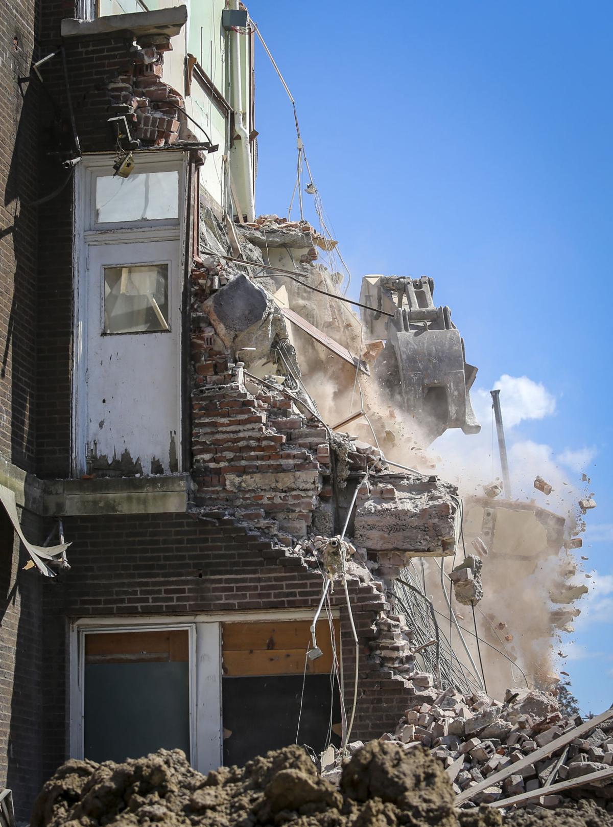 Sacred Heart School coming down