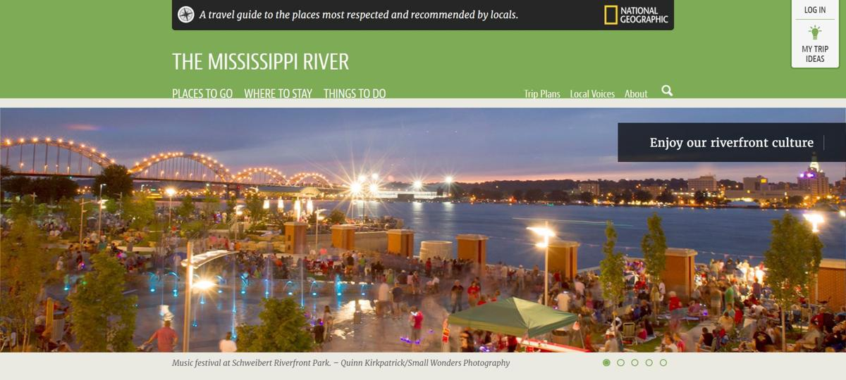 National Geographic geotourism website