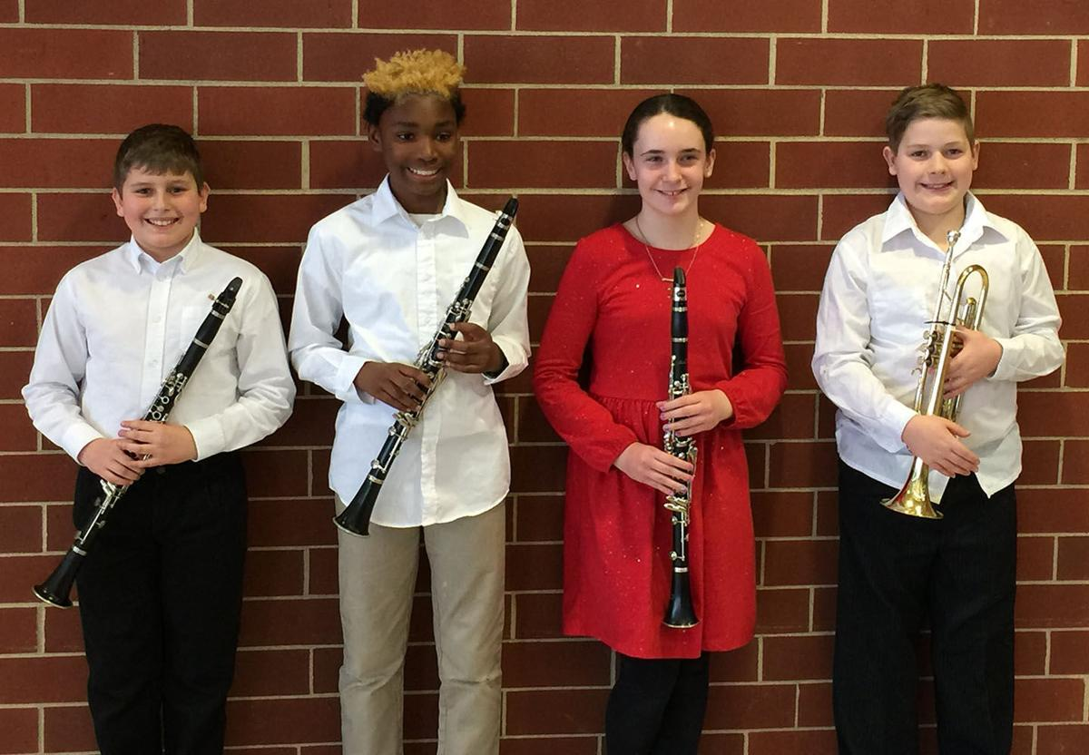BCSD Young Honor Band 2018