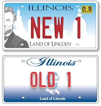 illinois to start issuing newly redesigned license plates | illinois