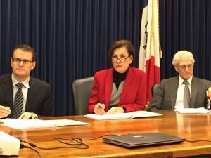 Reynolds outlines 'tough' budget process