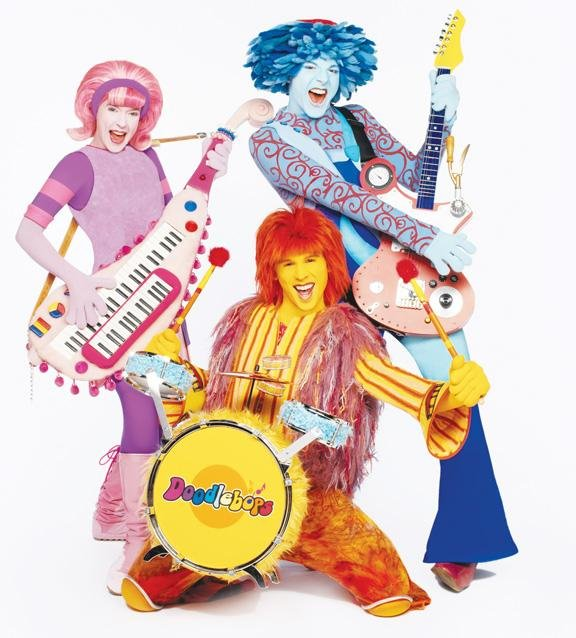 Doodlebops A Colorful Surprise For Performer Fun And Entertainment