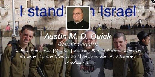 Austin Quick's Twitter profile