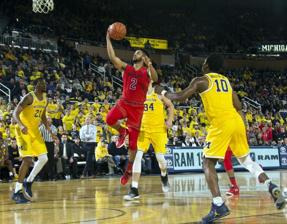 Maryland Michigan Basketball