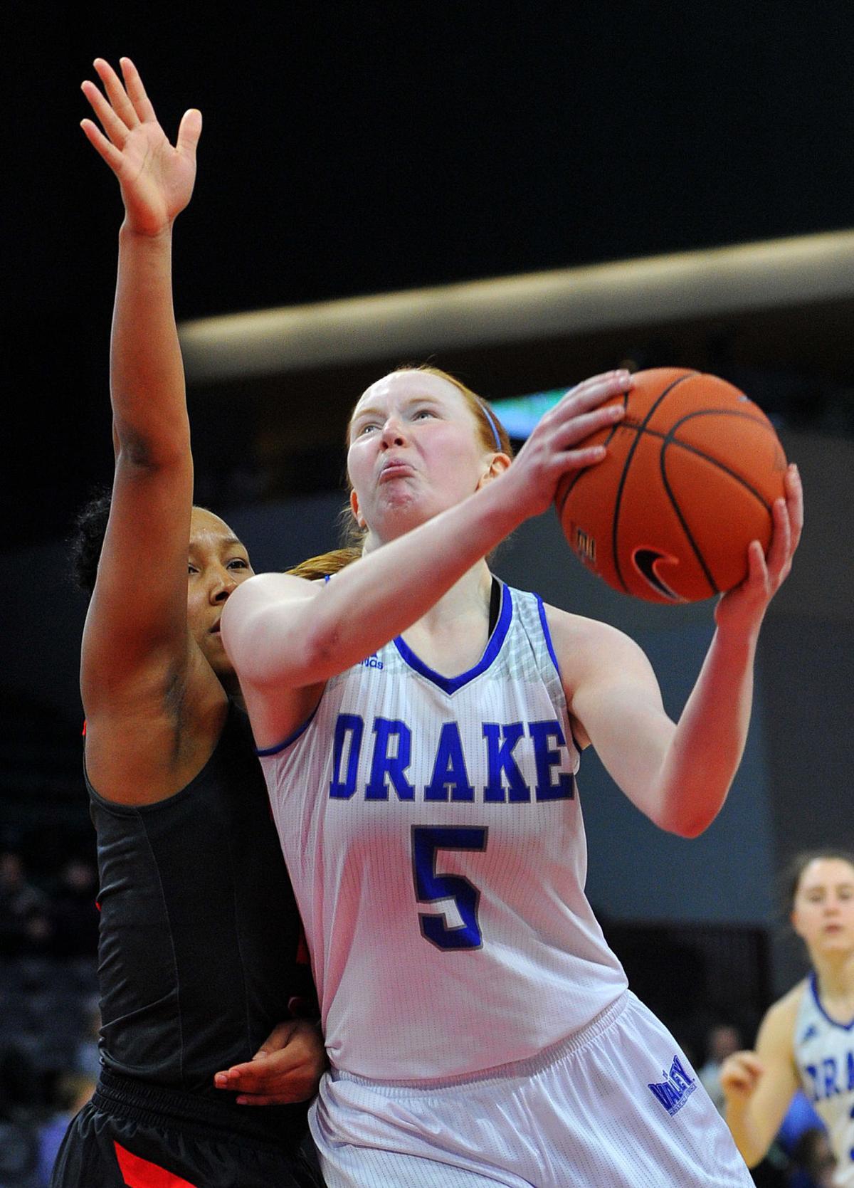 Drake vs Illinois State at the 2019 Missouri Valley Conference Women's Basketball Tournament