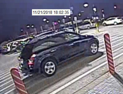 Attempted robbery suspect car