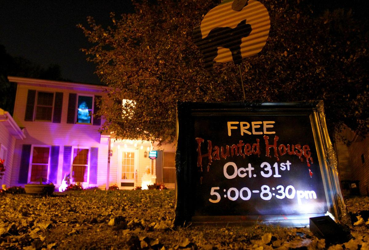 Image result for homemade haunted house sign