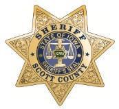 Scott County Sheriff's badge
