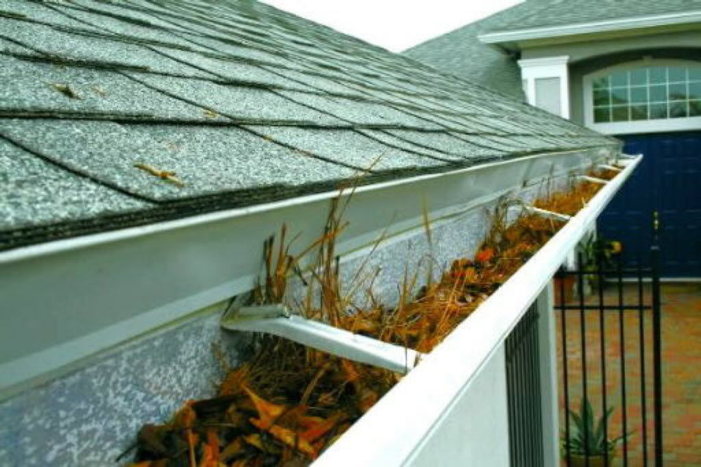 10. Clean your gutters