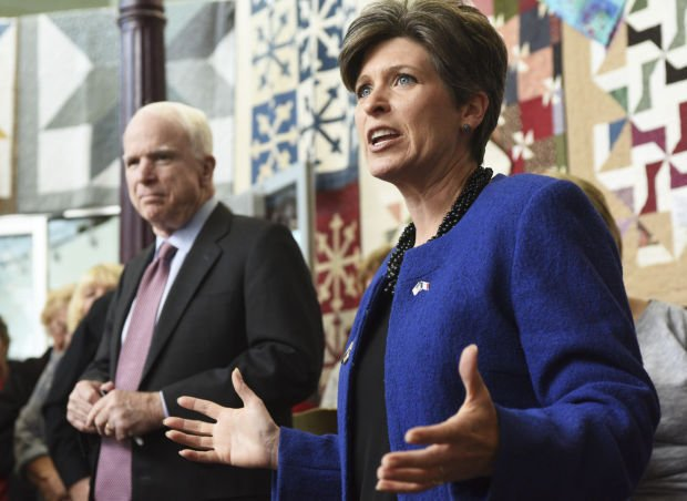 Ernst and McCain