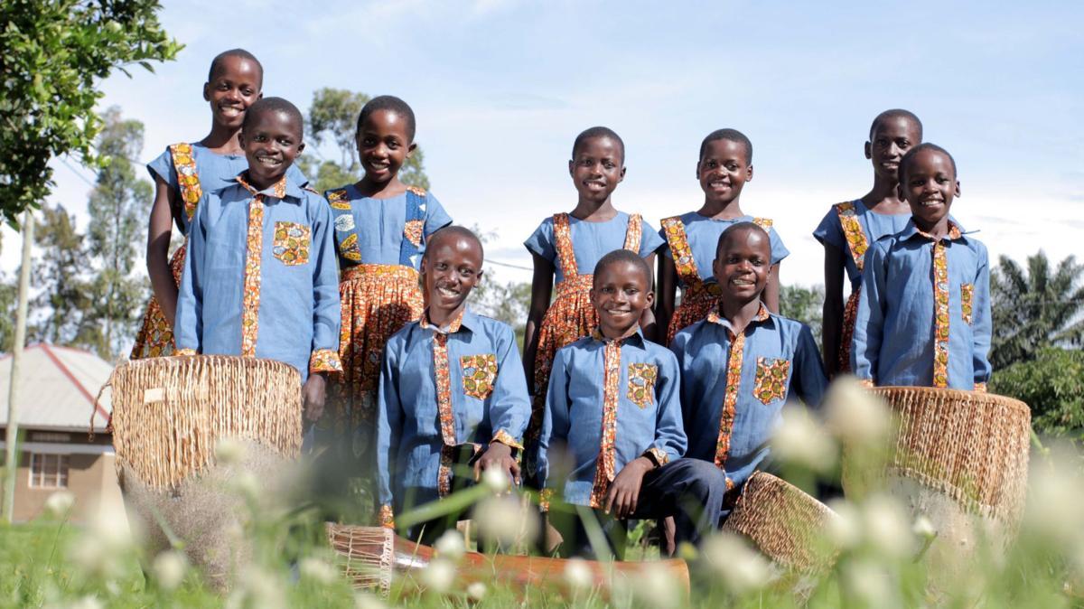 Uganda children's choir