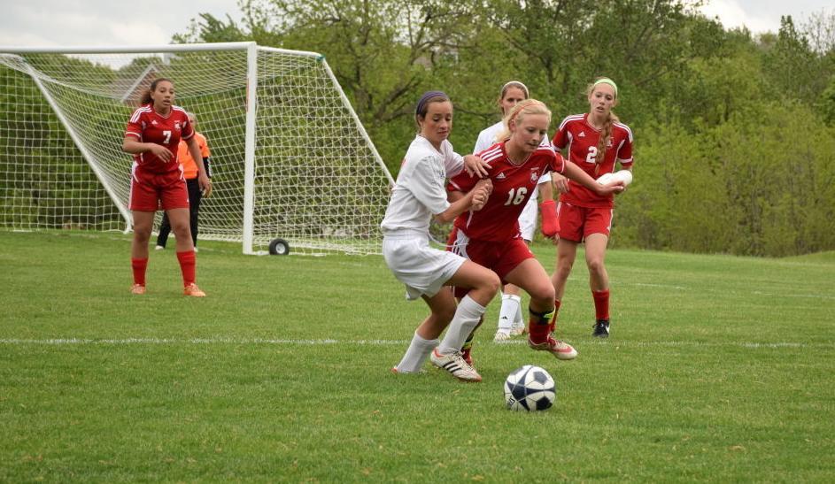 North Scott Assumption girls soccer