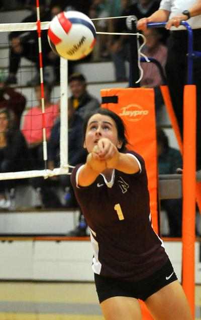 Moline vs United Township volleyball
