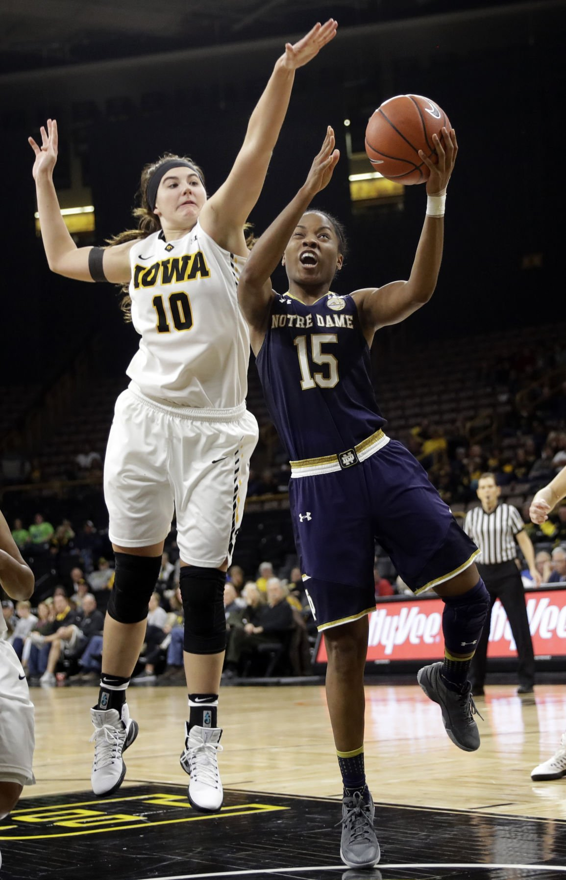 Notre Dame Iowa Basketball