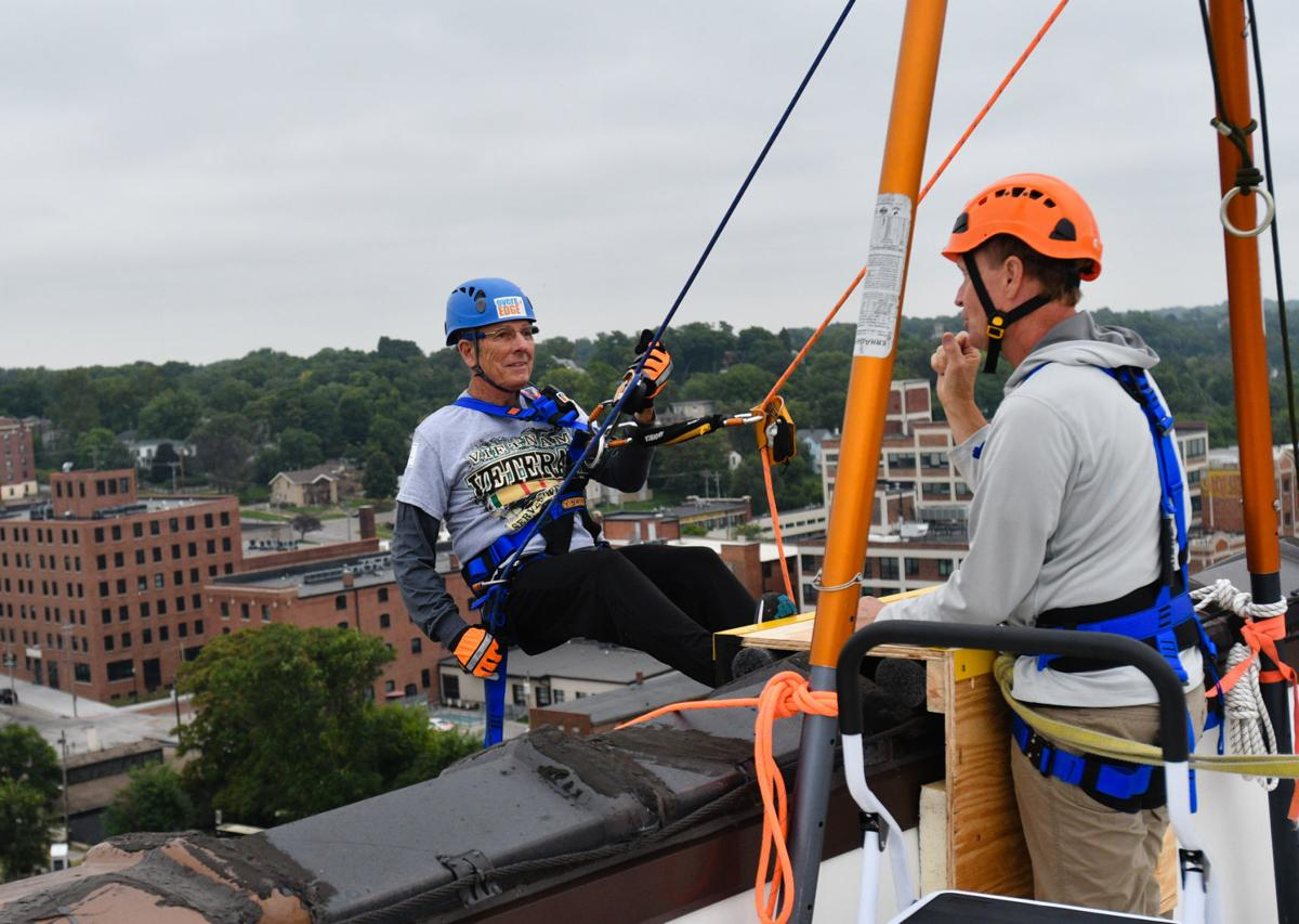 Rappelling for Big Brothers Big Sisters