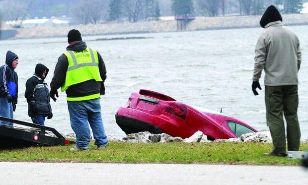 Car in River 2