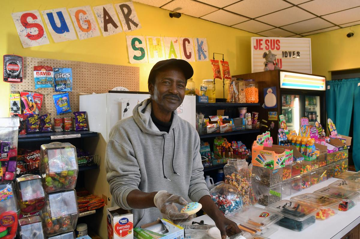 Quad-Citizen of the Year, Michael Stratford owner of Sugar Shack in Davenport.
